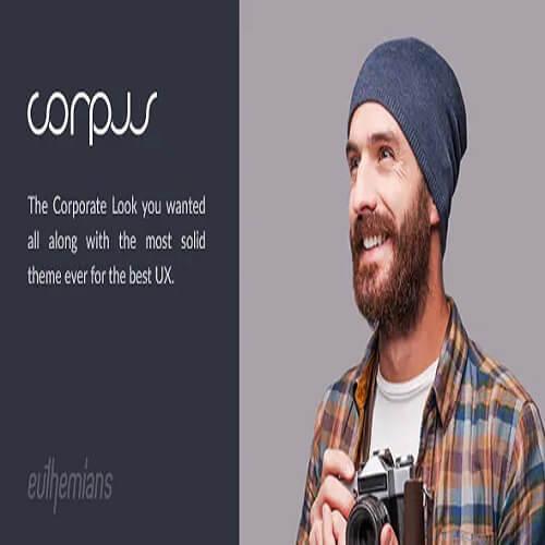 Corpus Responsive Corporate WordPress Theme