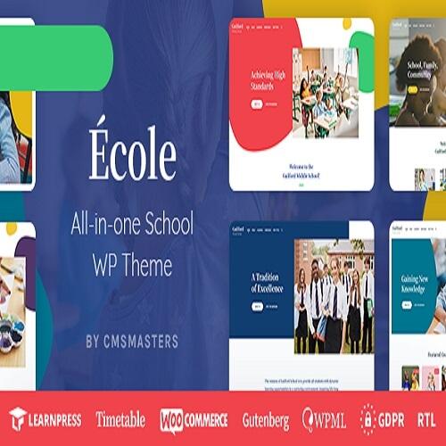 Ecole Education School WordPress Theme