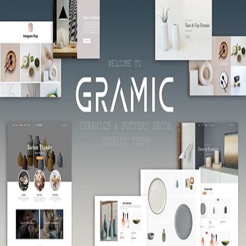 Gramic Ceramics Pottery Decor Shopify Theme