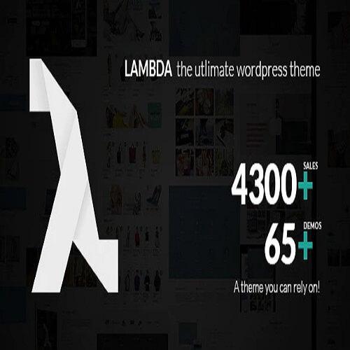 Lambda Multi Purpose Responsive Bootstrap Theme