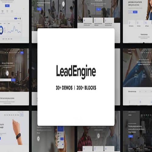 LeadEngine Multi Purpose WordPress Theme with Page Builder
