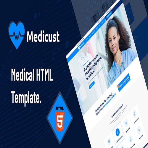 Medicust Health and Medical HTML5 Template