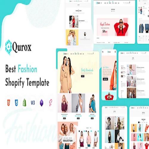Qurox Responsive Shopify Fashion Theme