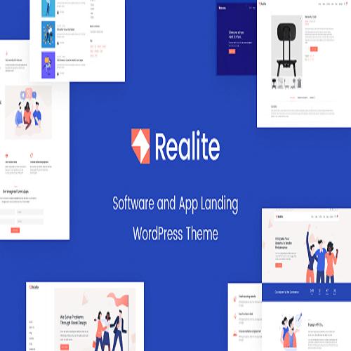 Realite A WordPress Theme for Startups