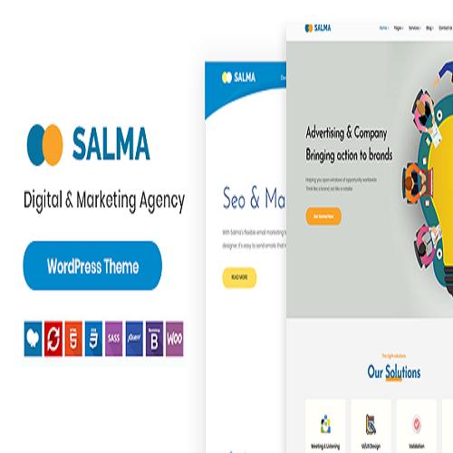 Salma SEO Marketing WordPress Theme