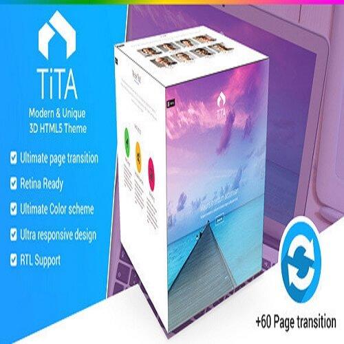 Tita 3D Modern WordPress Theme
