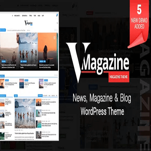 Vmagazine Multi Concept News WordPress Theme