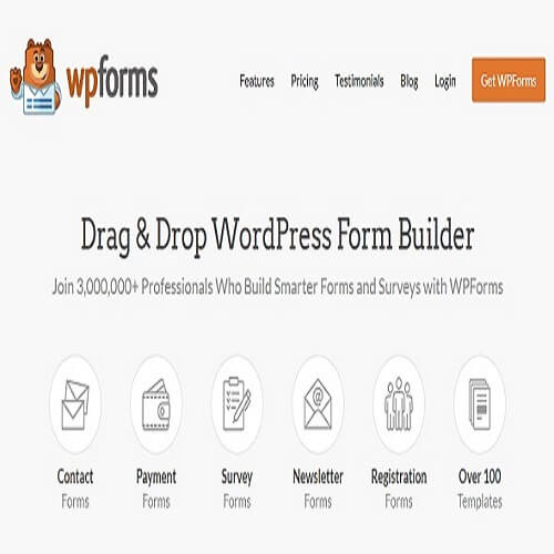 WPForms Pro With All Pro Addons