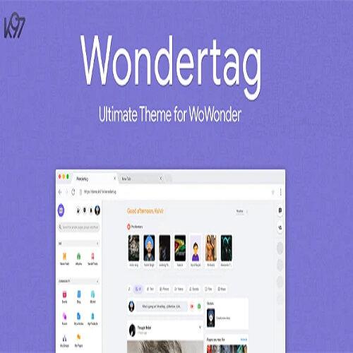 Wondertag The Ultimate WoWonder Theme