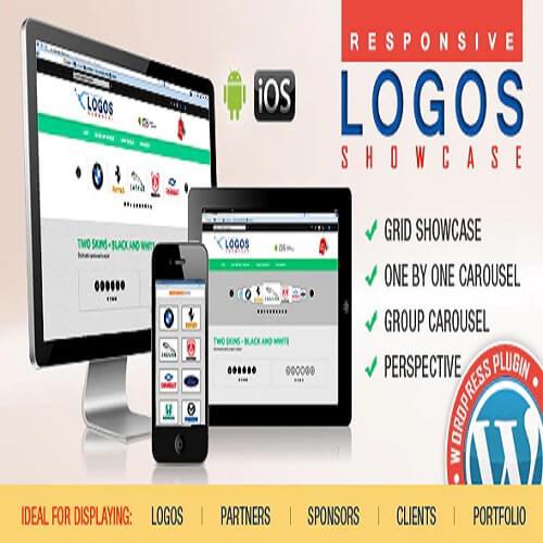 WordPress Logos Showcase Grid and Carousel