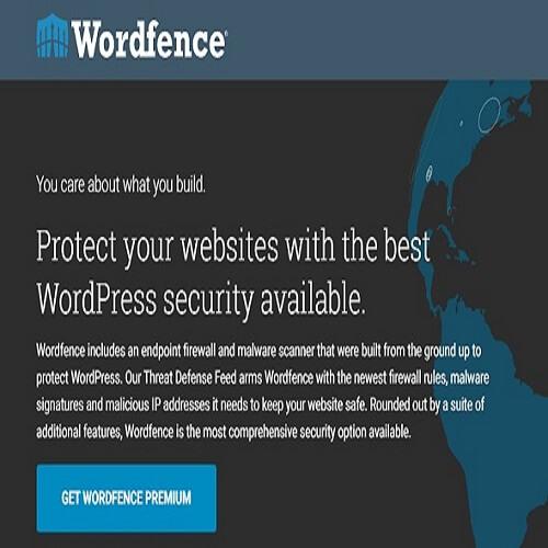 Wordfence Security Premium Activated