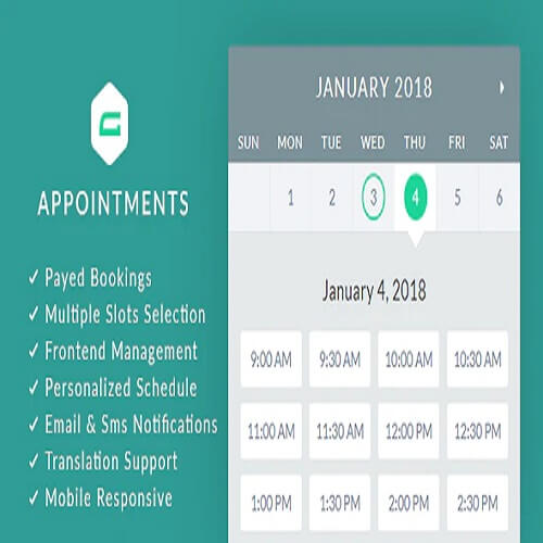 gAppointments Appointment booking addon for Gravity Forms
