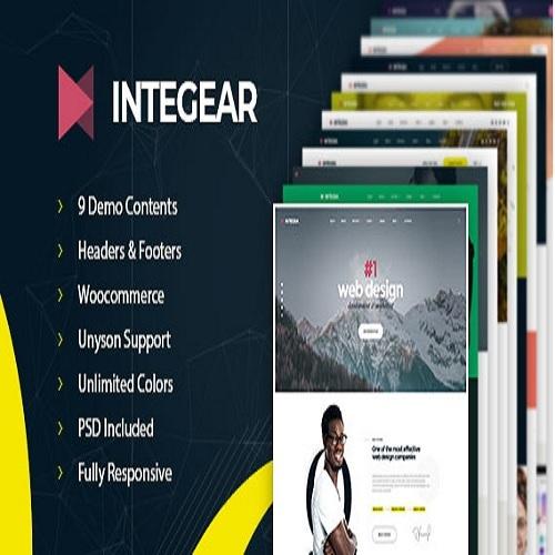 Integear IT Company Agency WordPress Theme