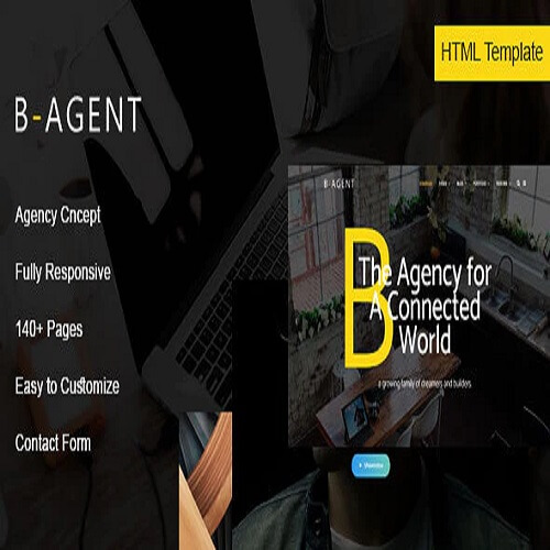 B-Agent - Agency HTML Template
