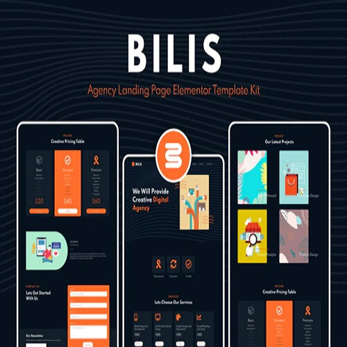 Bilis - Agency Landing Page Template