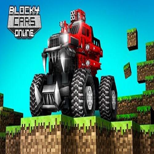 Blocky Cars MOD APK (Unlimited Money)