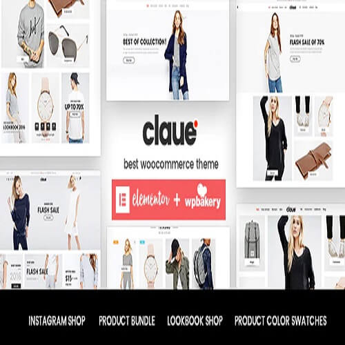 Claue - Clean Minimal Elementor WooCommerce Theme