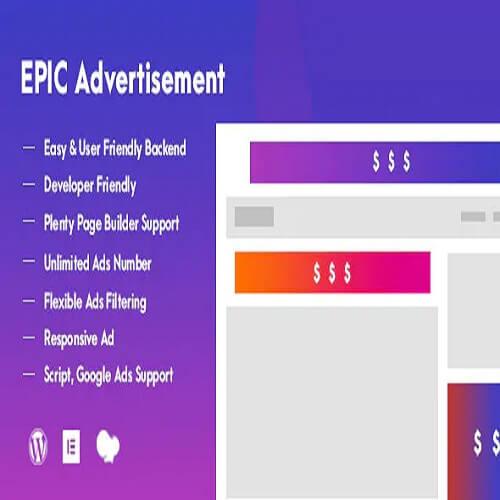 Epic Advertisement WordPress Plugin