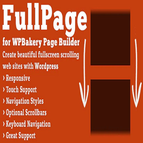 FullPage for WPBakery Page Builder