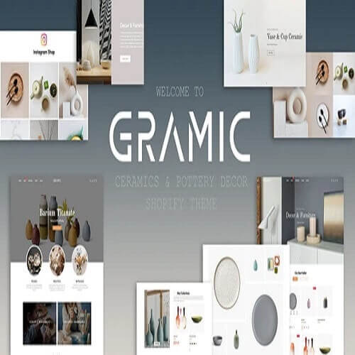Gramic - Ceramics & Pottery Decor Shopify Theme
