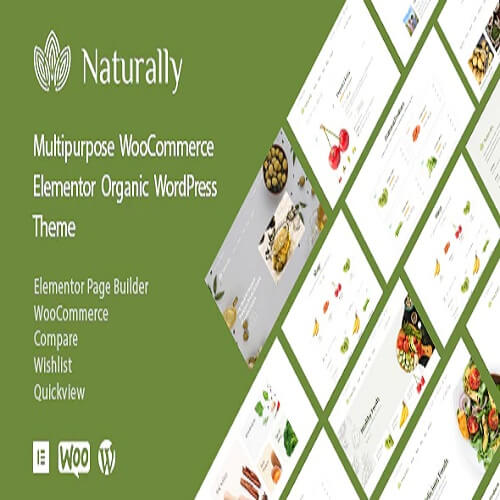 Naturally - Organic Food Products WordPress Theme