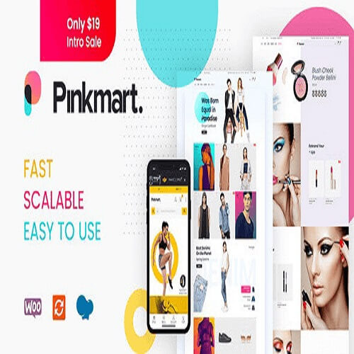 Pinkmart - AJAX theme for WooCommerce