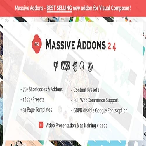 Massive Addons for WPBakery Page Builder 2