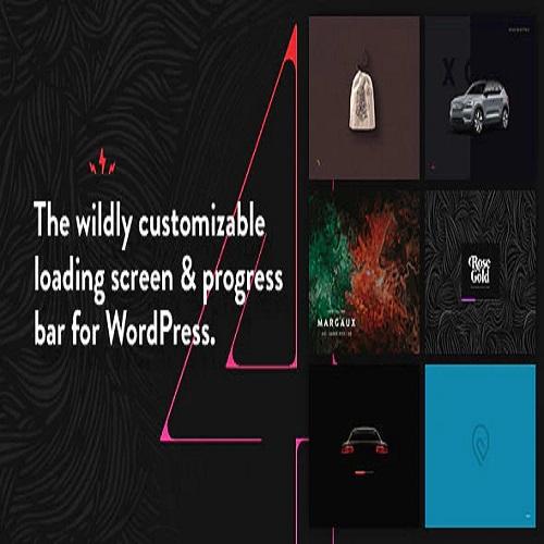 PageLoader WordPress Loading Screen and Progress Bar