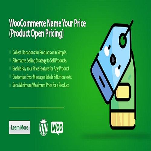 WooCommerce Name Your Price (Product Open Pricing)