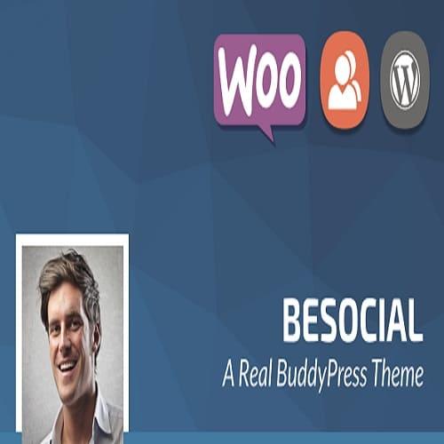 Besocial - BuddyPress Social Network & Community WordPress Theme