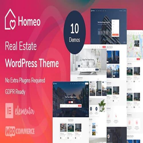 Homeo Real Estate WordPress Theme