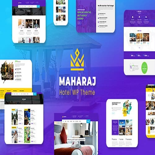 Maharaj - Hotel Master WordPress Theme