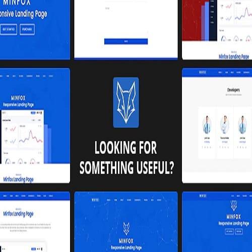 Minfox - Software Landing Page WordPress Theme