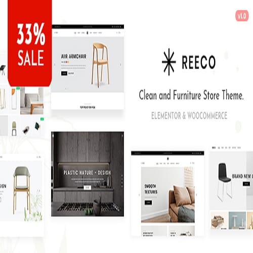 Reeco - Furniture WooCommerce WordPress Theme