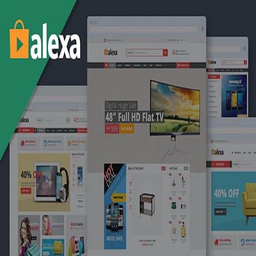 Alexa - Mega Store Responsive Prestashop Theme