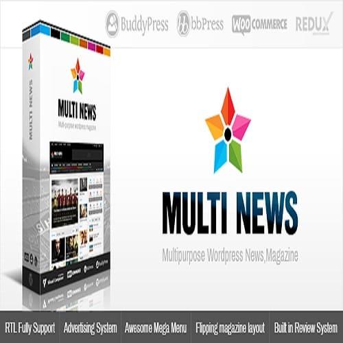 Multinews | Magazine WordPress Theme