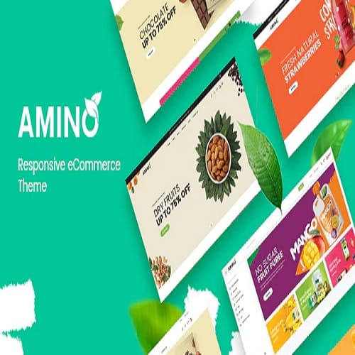 Amino - Organic & Multipurpose Prestashop Theme