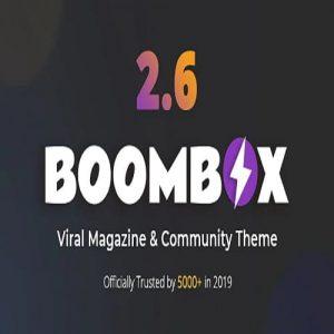 BoomBox — Viral Magazine WordPress Theme