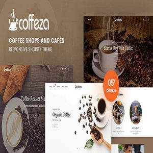 Coffeza - Coffee Shops and Cafés Responsive Shopify Theme