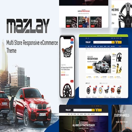 Mazlay - Car Accessories Prestashop Theme