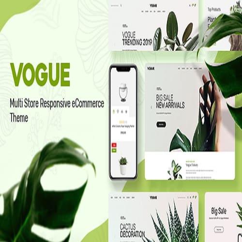 Vogue - Plant Store Prestashop Theme