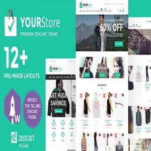 YourStore Premium Zen Cart Theme
