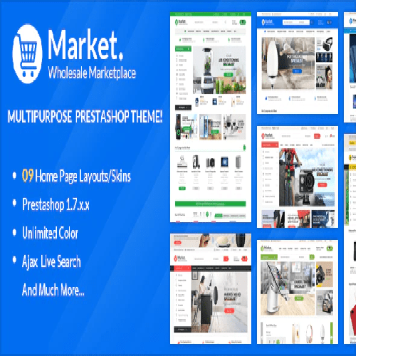 Themes Market Responsive Prestashop 1.7