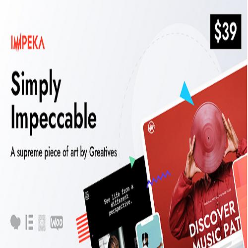 Impeka - Creative Multi-Purpose WordPress Theme